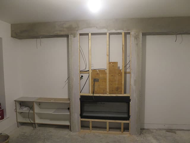 alcoves in construction