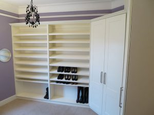 Wardrobes and Shelving for Shoes