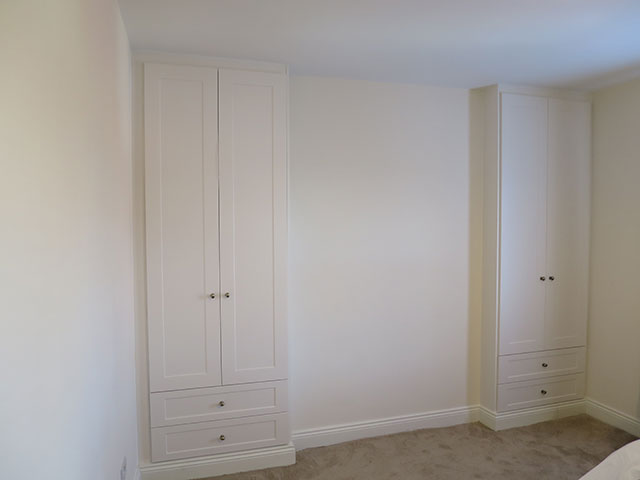 alcove wardrobes with drawers