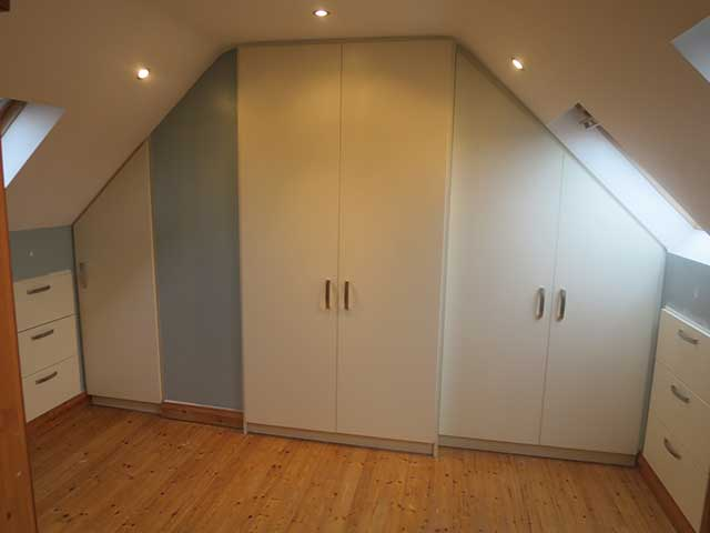 Attic Room Wardrobe